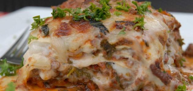 Итальянская кухня. Рецепт: Белая лазанья «Болоньезе» (фото)