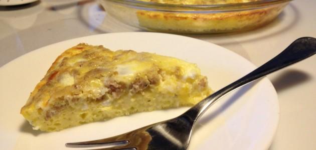 Итальянская кухня. Рецепт: Белый киш «Пиноккио» (фото)