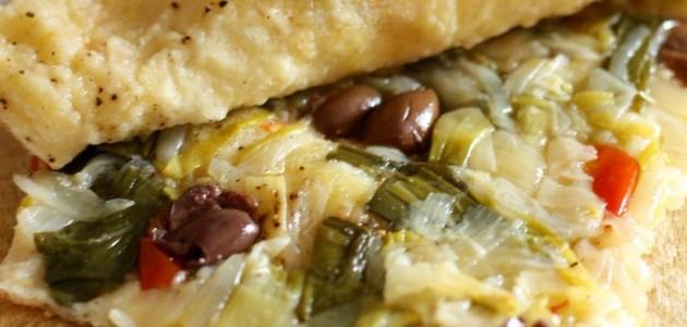 Итальянская кухня. Рецепт: Фокачча с луковой начинкой (фото)