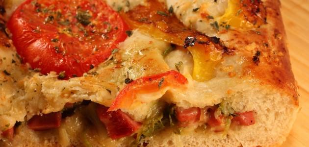 Итальянская кухня. Рецепт: Фокачча с начинкой (фото)