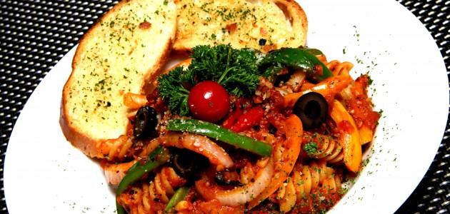 Итальянская кухня. Рецепт: Фузилли по-деревенски (фото)