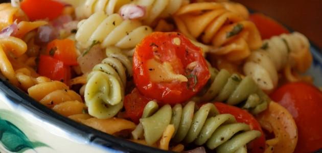 Итальянская кухня. Рецепт: Как приготовить холодный салат из макарон (фото)