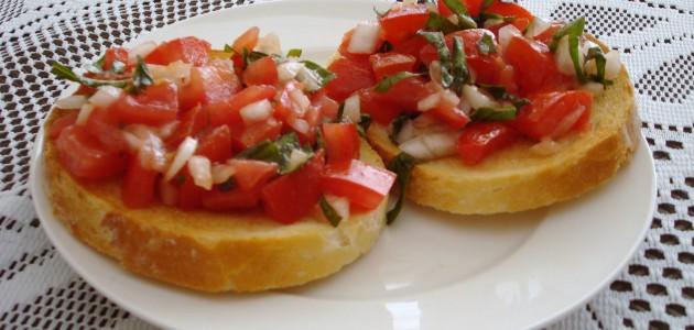 Итальянская кухня. Рецепт: Как приготовить настоящую итальянскую брускетту (фото)