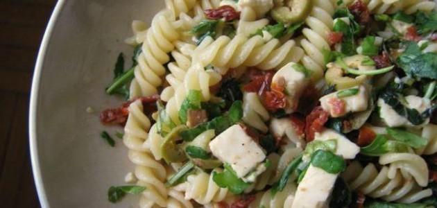 Итальянская кухня. Рецепт: Как приготовить пасту с оливками и вялеными помидорами (фото)