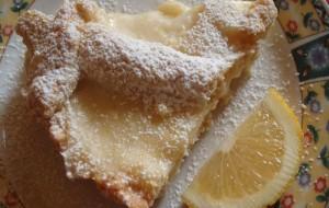 Как приготовить пирог с лимонным кремом