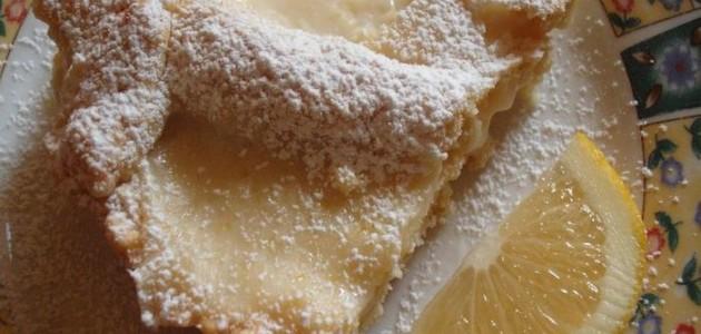 Итальянская кухня. Рецепт: Как приготовить пирог с лимонным кремом (фото)