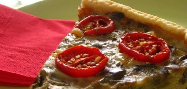 Итальянская кухня. Рецепт: Как приготовить пирог с помидорами и баклажанами (фото)