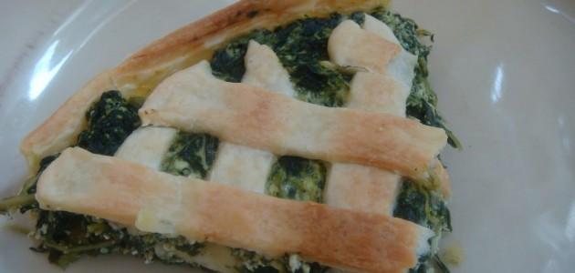 Итальянская кухня. Рецепт: Как приготовить пирог с рикоттой и шпинатом (фото)