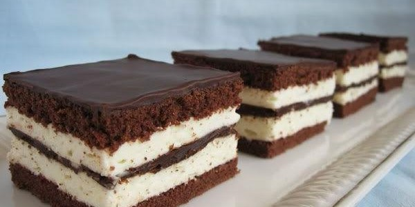 Итальянская кухня. Рецепт: Как приготовить шоколадно-молочные ломтики «Kinder» (фото)