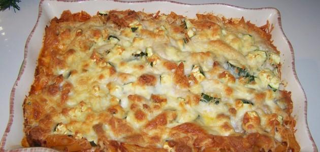 Итальянская кухня. Рецепт: Как приготовить запеканку из пасты (макарон) (фото)