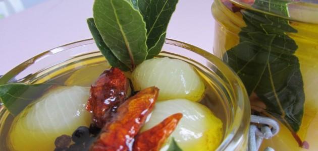 Итальянская кухня. Рецепт: Маринованный лук (фото)