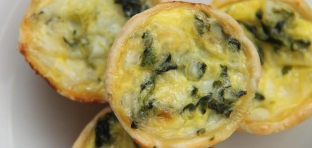 Итальянская кухня. Рецепт: Мини-кексы с грибами и ветчиной (фото)