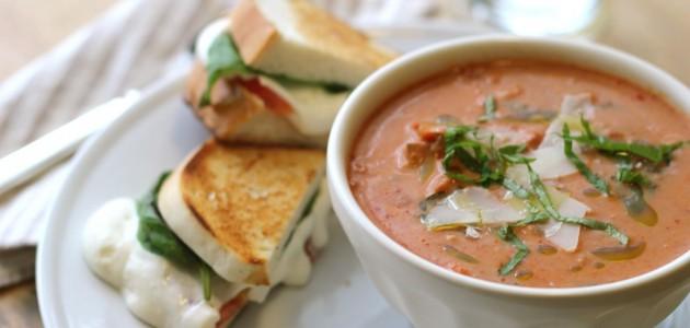 Итальянская кухня. Рецепт: Овощной крем-суп (фото)