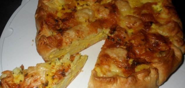 Итальянская кухня. Рецепт: Овощной закусочный пирог (фото)