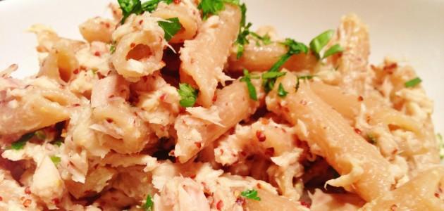Итальянская кухня. Рецепт: Пенне с тунцом и петрушкой (фото)