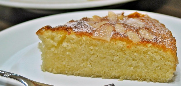 Итальянская кухня. Рецепт: Пирог с миндалем (фото)