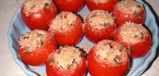 Итальянская кухня. Рецепт: Помидоры «Гратен» (фото)