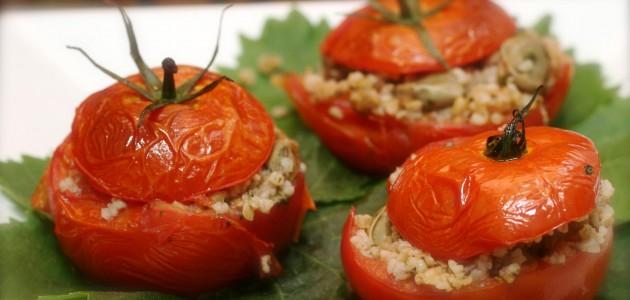 Итальянская кухня. Рецепт: Помидоры, фаршированные булгуром (фото)