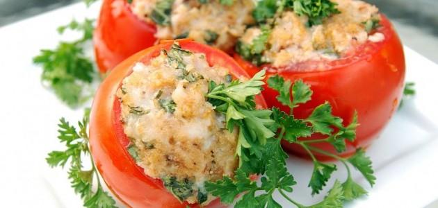 Итальянская кухня. Рецепт: Помидоры, фаршированные рисом (фото)
