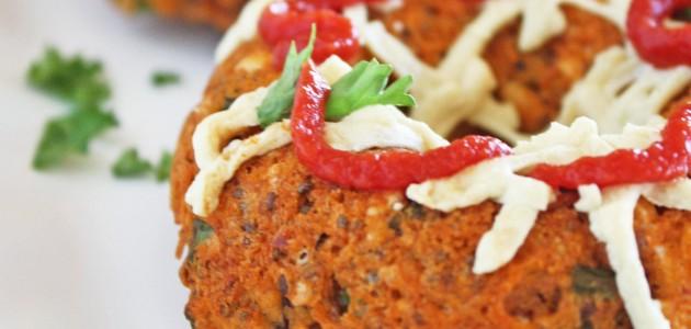 Итальянская кухня. Рецепт: Пончики – пицца (фото)
