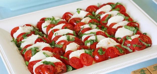 Итальянская кухня. Рецепт: Салат «Капрезе» (фото)