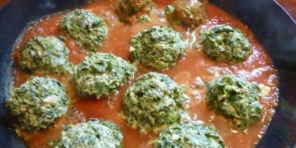Итальянская кухня. Рецепт: Шарики из шпината (фото)