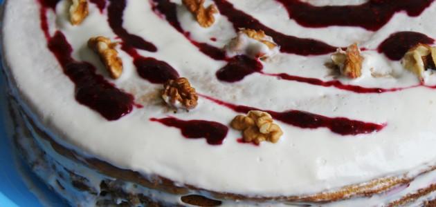 Итальянская кухня. Рецепт: Торт с медом и сметаной (фото)