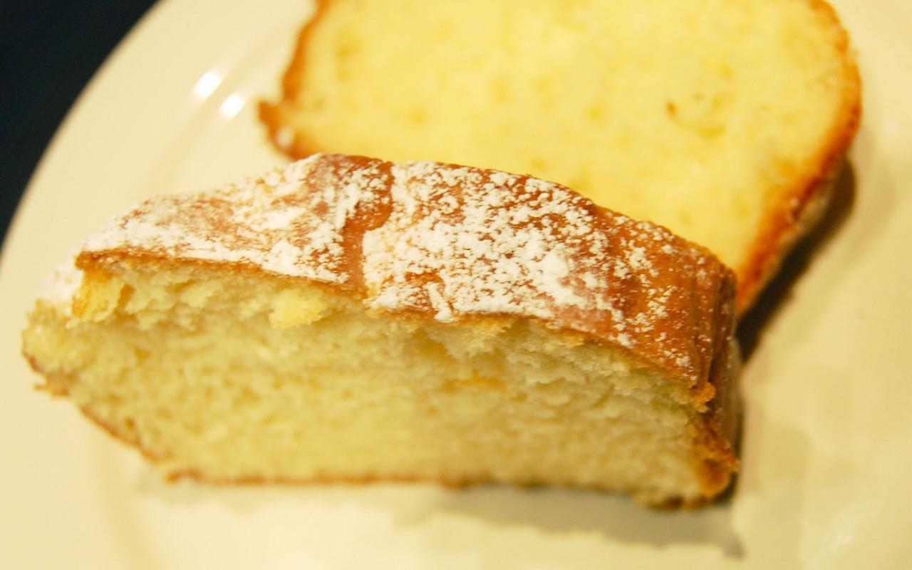 лимонный кекс рецепт на сметане