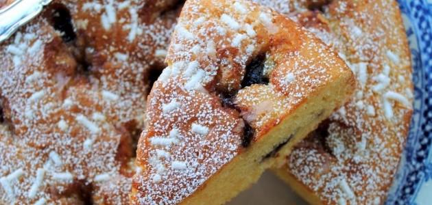 Итальянская кухня. Рецепт: Пирог с вишней (фото)