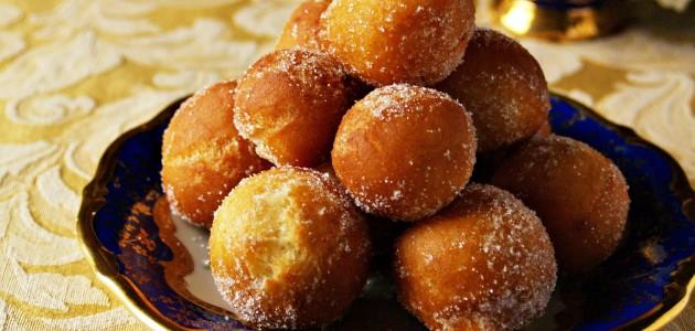 Итальянская кухня. Рецепт: Пончики с апельсинами (фото)