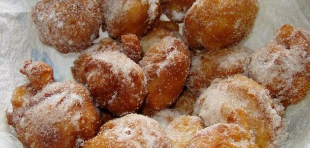 Итальянская кухня. Рецепт: Рисовые пончики (фото)