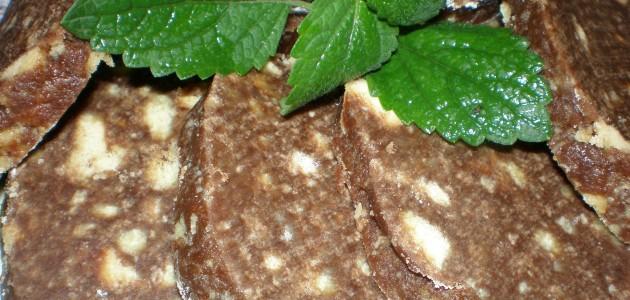 Итальянская кухня. Рецепт: Рулет из печенья и какао (фото)