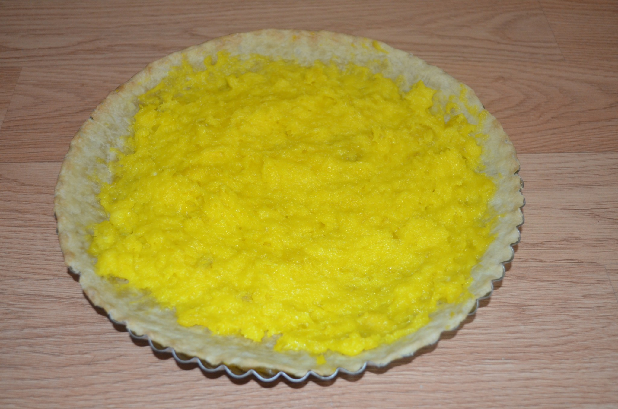 Рецепт лимонного пирога