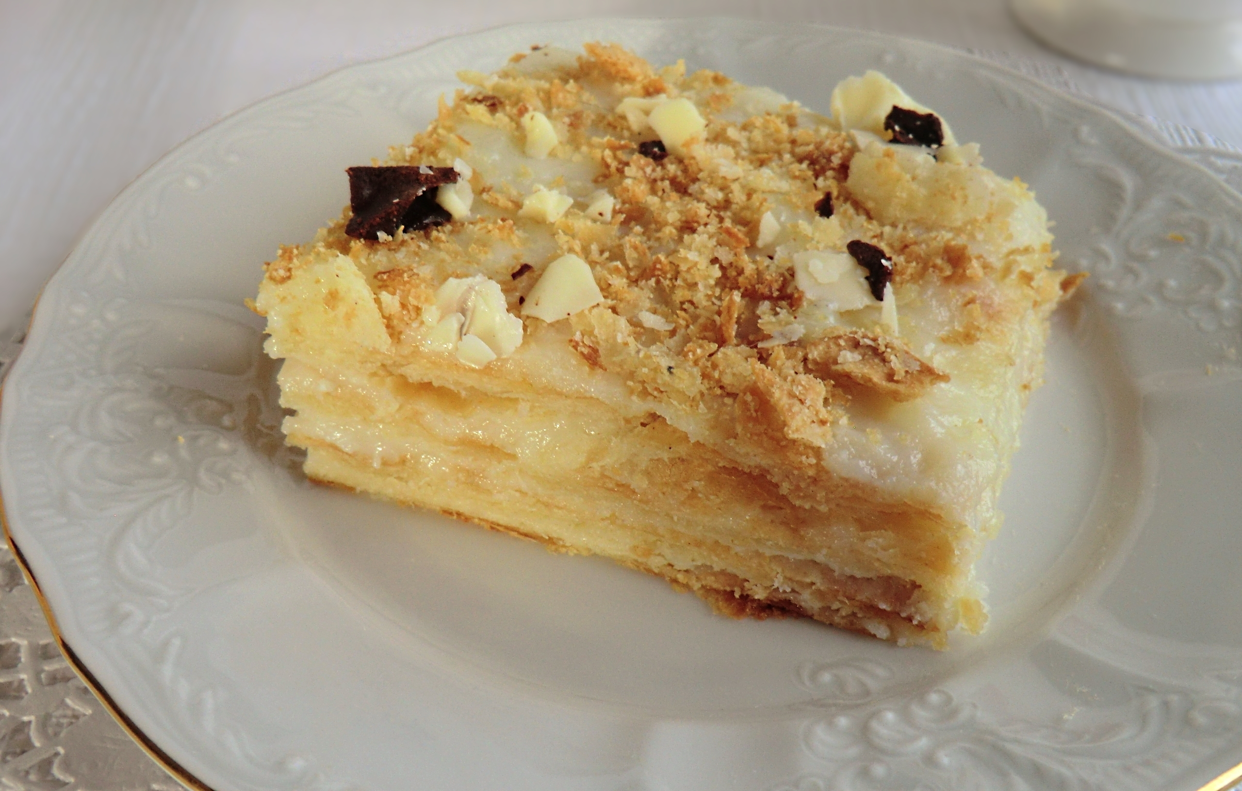 Как приготовить домашний торт Наполеон