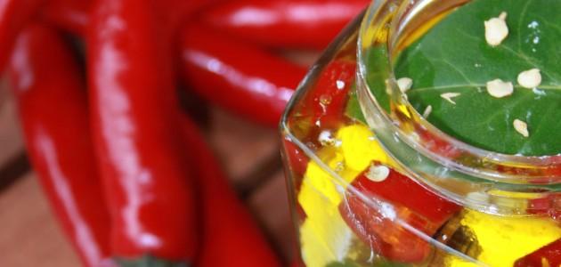 Итальянская кухня. Рецепт: Маринованный перец (фото)