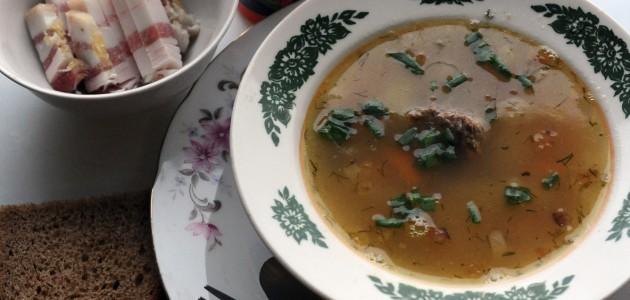 Итальянская кухня. Рецепт: Гороховый суп (фото)