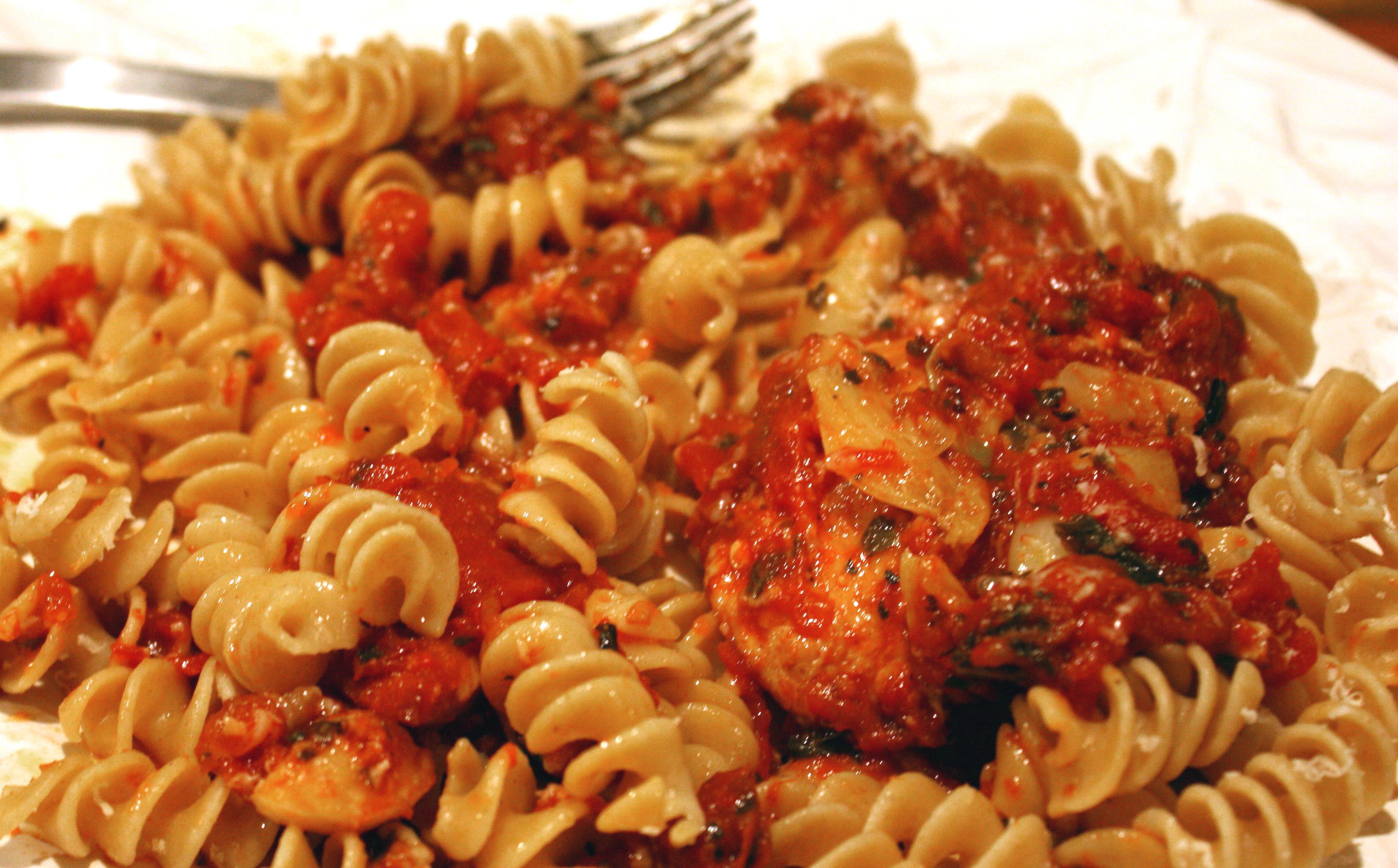 Макароны по флотски с тушенкой и томатной пастой рецепт пошагово