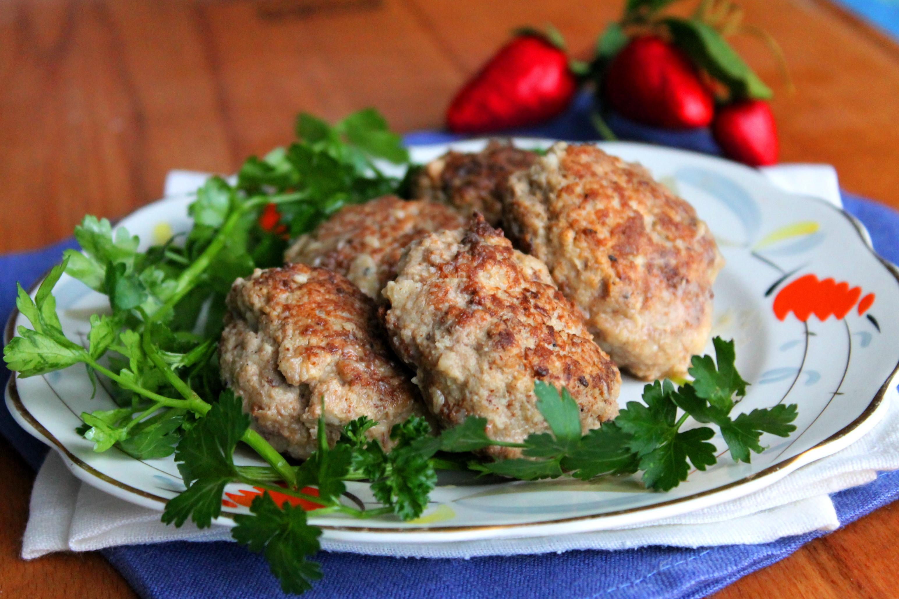 Котлеты с мясом и грибами рецепт пошагово