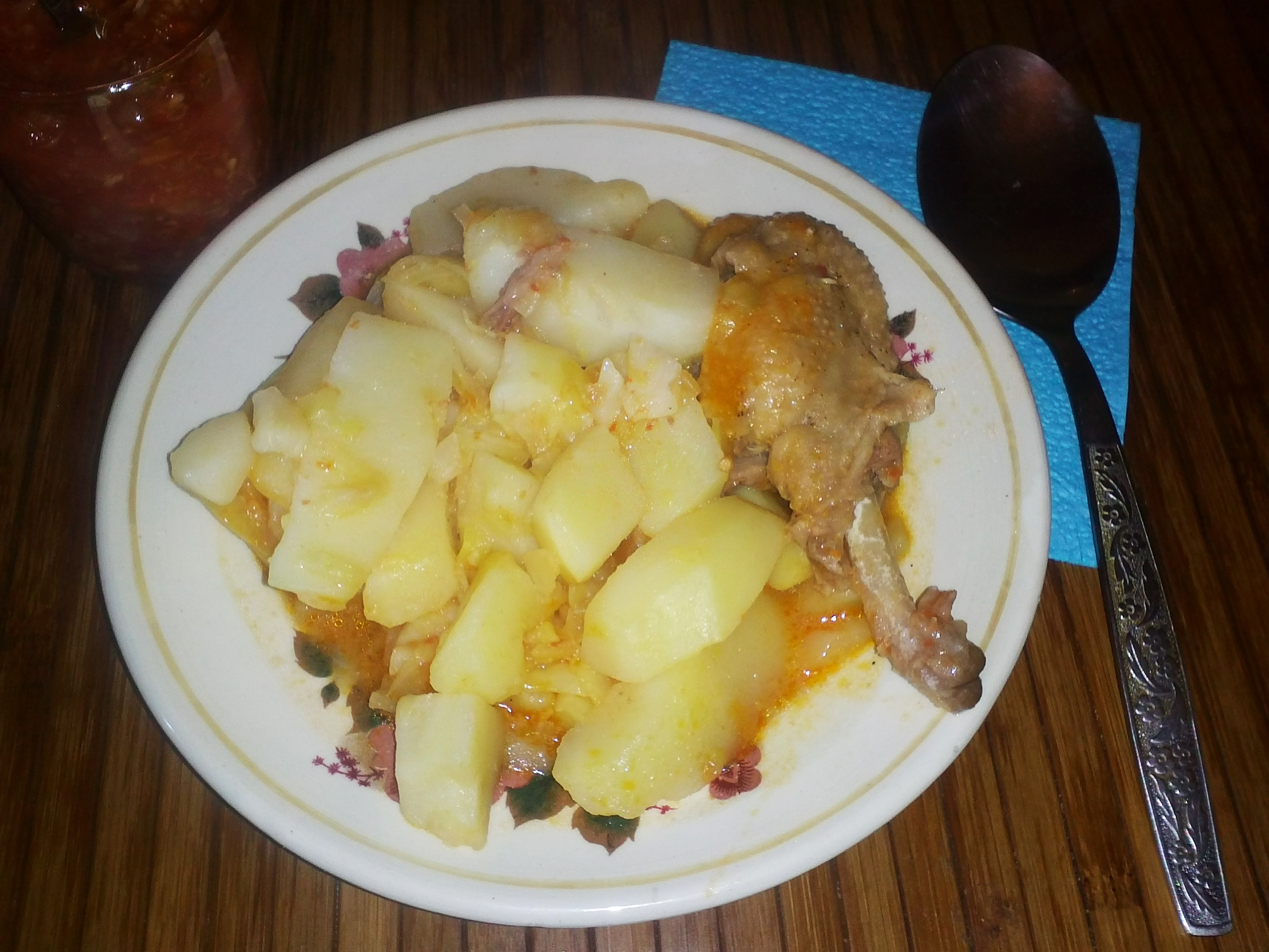 Рагу с картошкой и мясом пошагово