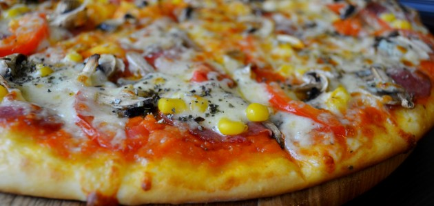 Итальянская кухня. Рецепт: Пицца с грибами (фото)