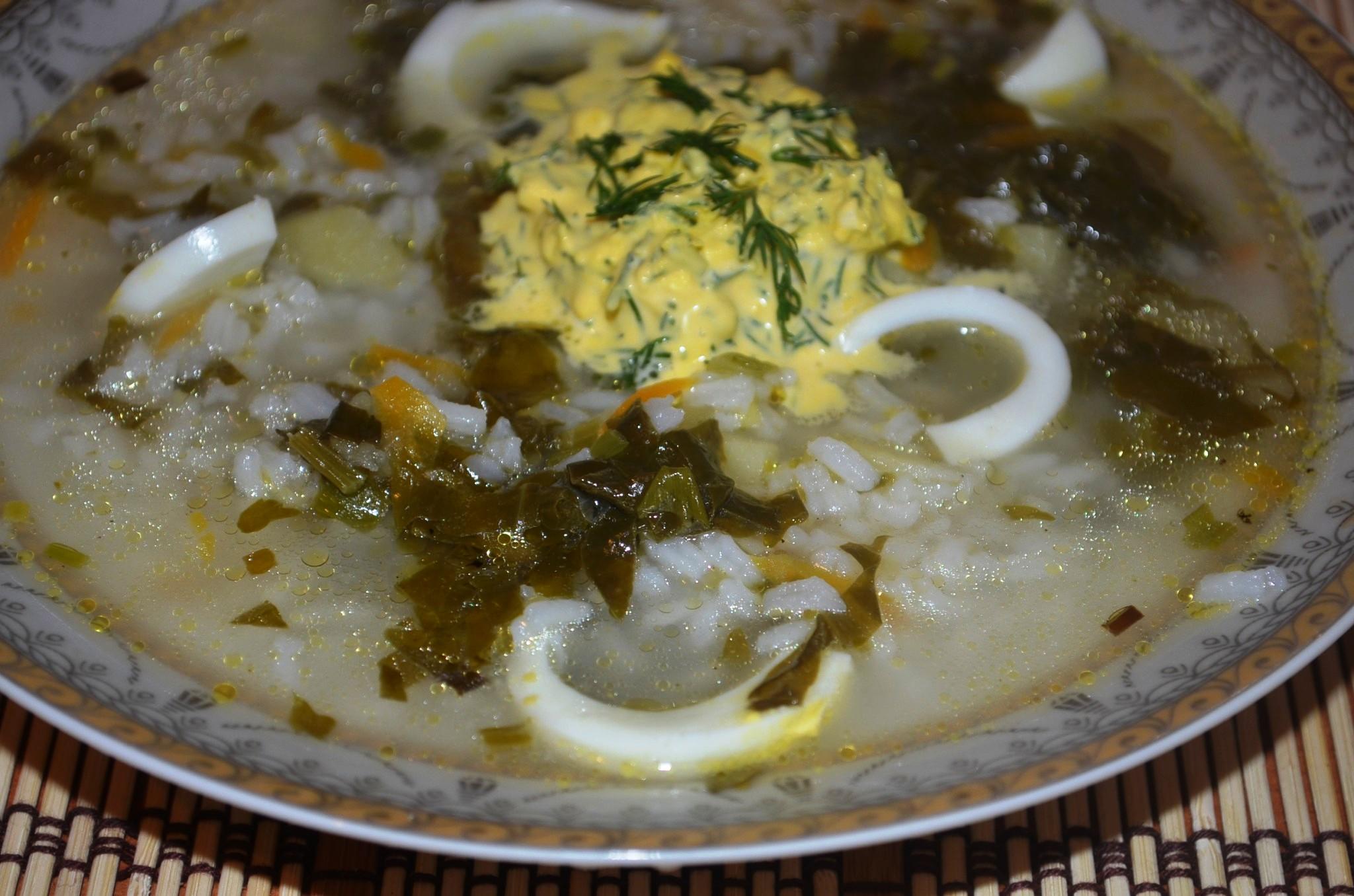 Щавелевый суп с яйцом классический рецепт с фото пошагово 14