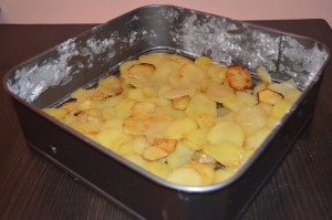 Картофельная запеканка со свининой