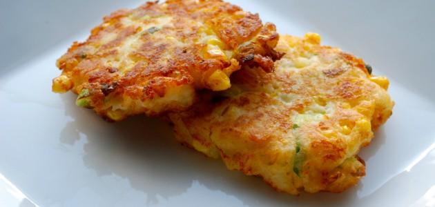 Итальянская кухня. Рецепт: Оладьи с луком (фото)
