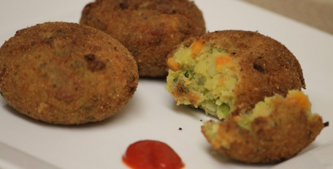 Овощные котлеты – вкусное вегетарианское блюдо
