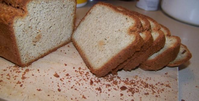 Кефирный хлеб