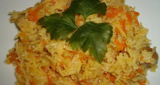 Итальянская кухня. Рецепт: Простой рецепт плова (фото)