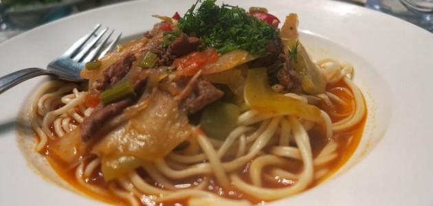 Итальянская кухня. Рецепт: Лагман в мультиварке (фото)