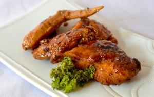 Вкусный рецепт куриные крылышки в меду, в аэрогриле