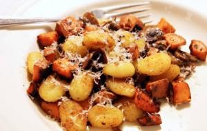 Картошка с грибами в аэрогриле