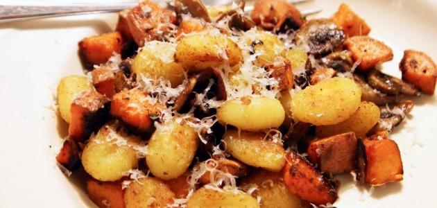 Итальянская кухня. Рецепт: Картошка с грибами в аэрогриле (фото)